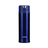 象印保温杯XA48真空不锈钢水杯男女士便携茶杯大容量进口直身杯子 孔雀蓝