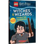 乐高英文原版 哈利波特人物手册 Witches And Wizards Character Handbook