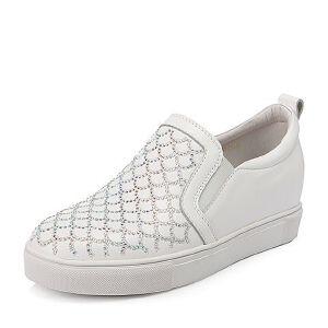 Belle/百丽冬专柜同款牛皮女单鞋Q4M2DCM6