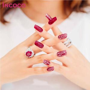 INCOCO美国原装进口指甲油贴膜美甲贴  迷人玫瑰【支持礼品卡支付】