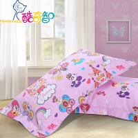 【年货直降】富安娜家纺 酷奇智可爱卡通公主风纯棉双层纱单件枕套