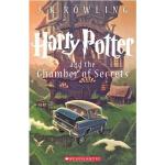 【现货】英文原版 哈利波特与密室 卷2  Harry Potter and the Chamber of Secrets 新美版平装 同名电影原著 青少读物 JK罗琳