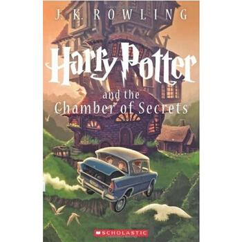 【现货】英文原版 哈利波特与密室 卷2  Harry Potter and the Chamber of Secrets 新美版平装 同名电影原著 青少读物 JK罗琳 国营进口,质量保证!