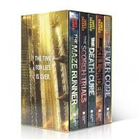 美国进口 英文原版科幻小说 移动迷宫英文版原版 全套5册 The Maze Runner Series 7-15岁少儿