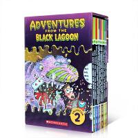 英文原版 Black Lagoon Collection Set 2 黑潭小学11-20册 学生英语课外阅读提升 儿童