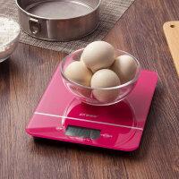 【满减】欧润哲 钢化玻璃面板厨房秤 家用电子秤食物秤 烘焙秤克秤