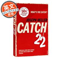 第二十二条军规 Catch-22 英文原版小说 50周年纪念版 约瑟夫海勒 Joseph Heller 2019改编同