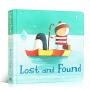 英文原版Lost and Found远在天边 迷路的小企鹅 奥利弗・杰弗斯 Oliver Jeffers 智慧小孩摘星星的孩子系列 3-6岁启蒙 绘本纸板书