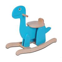 简易拼装小木马儿童礼物礼物玩具木质恐龙摇马