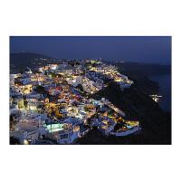 木质5000片拼图1000玩具希腊圣托里尼爱琴海世界风景 姜黄色 爱琴海1号2000片