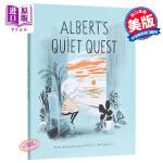 【中商原版】Isabelle Arsenault:阿尔贝的追求 Albert'S Quiet Quest 精品绘本 故