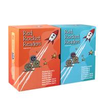 支持麦芽小达人点读笔红蓝盒子 点读版预备级红火箭英语分级阅读fluency leve 1+2 入门有声自然拼读海尼曼绘本