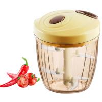 家用厨房小型手动料理搅拌机蒜泥器捣蒜切姜蒜蓉器绞菜机