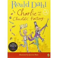 查理和巧克力工厂插画大开本故事书(罗尔德・达尔礼品书) Charlie and the Chocolate Facto