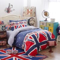伊迪梦家纺 全棉单人床上用品3件套 学生宿舍床单被套纯棉三件套 单人床1.2m米床HC3503