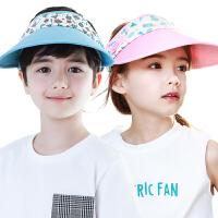 KK树儿童帽子男潮宝宝鸭舌帽夏天女童棒球帽太阳帽防晒纯棉4-8岁