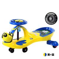 儿童扭扭车溜溜车1-3岁宝宝滑行车助步车小孩车子男女摇摆牛牛车