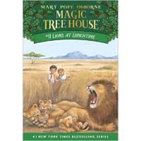 【现货】英文原版儿童书 Lions at Lunchtime 神奇树屋系列11:狮子的午餐时分