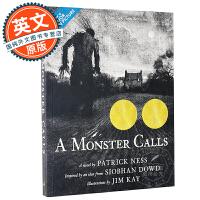 当怪物来敲门 恶魔呼唤 英文原版 A Monster Calls 同名电影原著小说 儿童奇幻文学 派崔克奈斯 Patr
