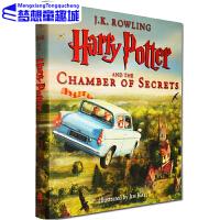 哈利波特与密室 精装全彩绘本 英文原版 2 Harry Potter and the Chamber of Secre