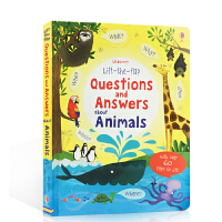 英文原版 Lift-the-flap Questions and Answers about Animals 关于动物