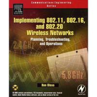 【预订】Implementing 802.11, 802.16, and 802.20 Wireless