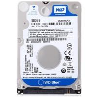 WD/西部数据 蓝盘 500G 5400转16M SATA3 2.5英寸笔记本硬盘WD5000LPCX 7MM