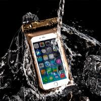 水下拍照手机袋潜水套漂流触屏苹果通用可爱卡通包壳