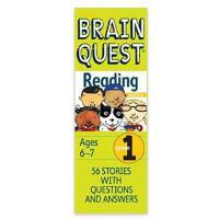 【现货】英文原版 Brain Quest:Grade 1 Reading 儿童智力开发系列卡片 1年级阅读