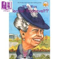 【中商原版】Who Was 系列 谁是罗斯福 Who Was Eleanor Roosevelt 儿童人物传记文学 平装