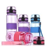水杯塑料小学生夏季便携户外运动水壶儿童防漏杯子 防漏便携户外水壶 500ML