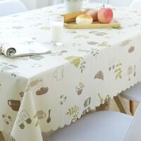 田�@餐桌布免洗桌布PVC塑料�_布�L方形茶�鬃�|