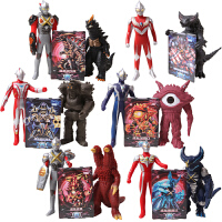 奥特曼与怪兽玩具 软胶玩偶 艾克斯闪光变身器召唤套装