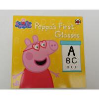 【全店300减100】英文原版绘本 Peppa Pig: Peppa's First Glasses 爱护眼睛 佩奇的眼