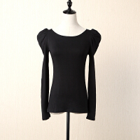 黑白条纹t恤女短袖上衣夏季新修身显瘦打底衫