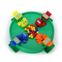 互动趣味桌面游戏儿童训练 同款青蛙吃豆玩具亲子