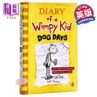 【中商原版】小屁孩日记4(英国版,平装)Diary of a Wimpy Kid#4 小屁孩日记 桥梁章节书 儿童文学