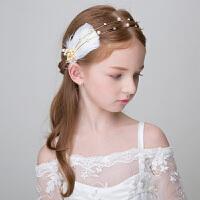 儿童发箍发饰头箍女童头饰发饰发箍六一儿童节演出头饰发箍 金色