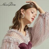 几何树脂大耳圈女气质韩国简约百搭耳环夸张时尚个性耳饰品