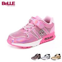 Belle/百丽秋冬季女童休闲旅游童鞋 中童运动鞋DE0169