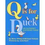 【预订】Q Is for Duck: An Alphabet Guessing Game Y9780618574124