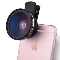 手机镜头通用外置拍照摄像头二合一单反广角微距镜头套装