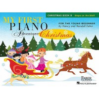 My First Piano Adventure Christmas - Book B: Steps on the S