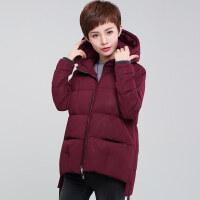棉袄女冬装冬季棉衣短款中年妈妈30-40岁50加厚外套