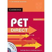 【预订】PET Direct Student's Book [With CDROM]