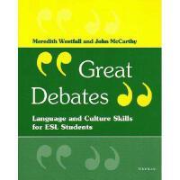 【预订】Great Debates: Language and Culture Skills for ESL