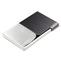 名片夹男式名片盒创意简约薄不锈钢名片夹