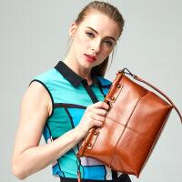 【春夏新品惠】2018新款真皮女包女士品牌牛皮头层皮包包单肩包手提包箱包