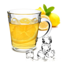 Glasslock进口耐热钢化玻璃家用水杯茶杯马克杯可拆卸杯架套装GL1521