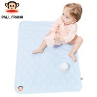TWA3177269大嘴猴(Paul Frank) 婴儿隔尿垫 防水透气可洗大号尿布 宝宝隔尿床垫两条装